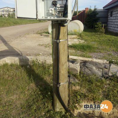 Подключение дома от опоры ЛЭП 380v 15кв